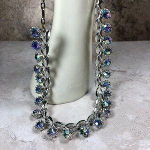 Jewelry - Vintage Aurora Borealis Rhinestone Necklace